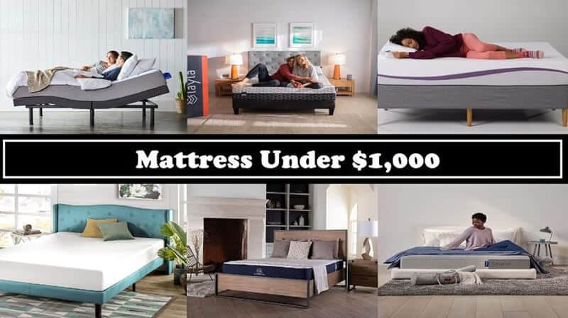 Best Mattress Under 1000 In 2020
