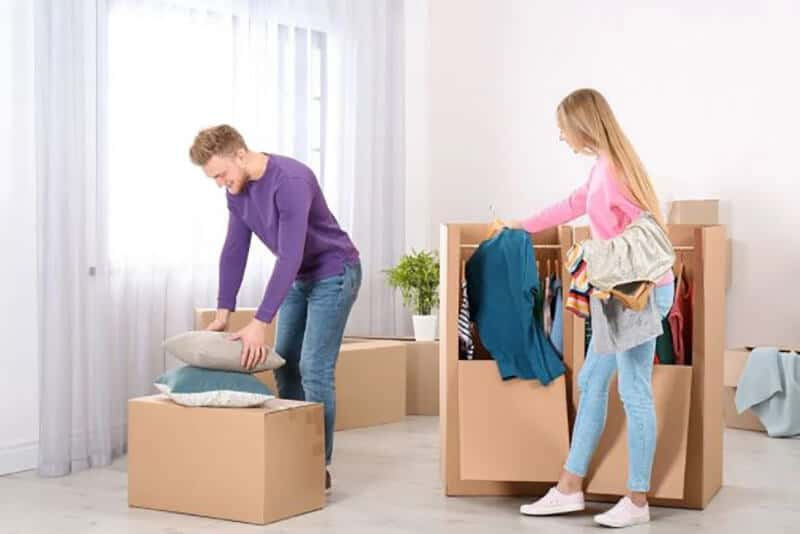 Things to do before packaging and moving a dresser