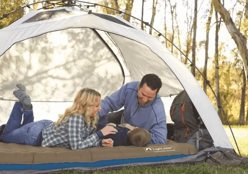 Various kinds of an air mattress for camping