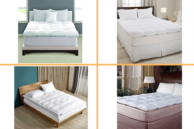 Top Rated 12 BestFeather Mattress Topper Brands