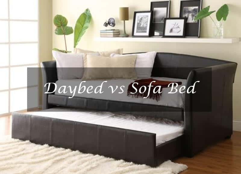 Daybed vs Sofa Bed
