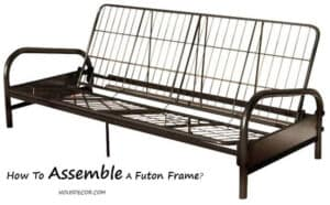 How To Assemble A Futon Frame