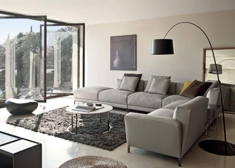 How To Put A Rug Under A Sectional Sofa